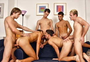 6 Cock Group Sex